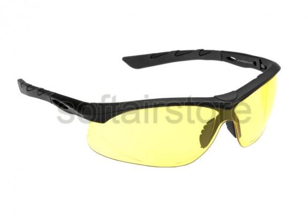 Schutzbrille Lancer Schwarz - Yellow (SwissEye)