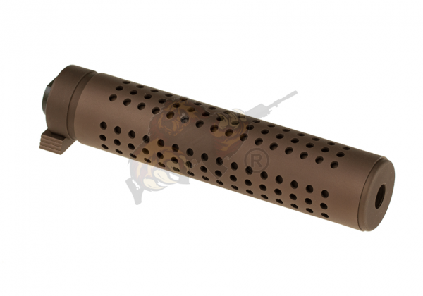 KAC QD 175mm Silencer CCW Tan - Pirate Arms