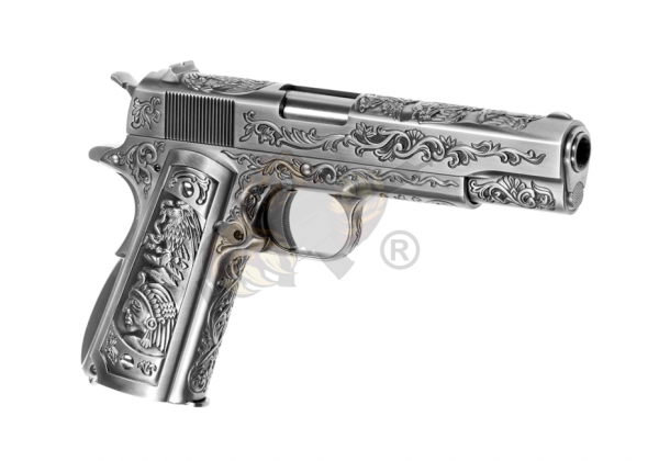 M1911 Etched Full Metal GBB - WE