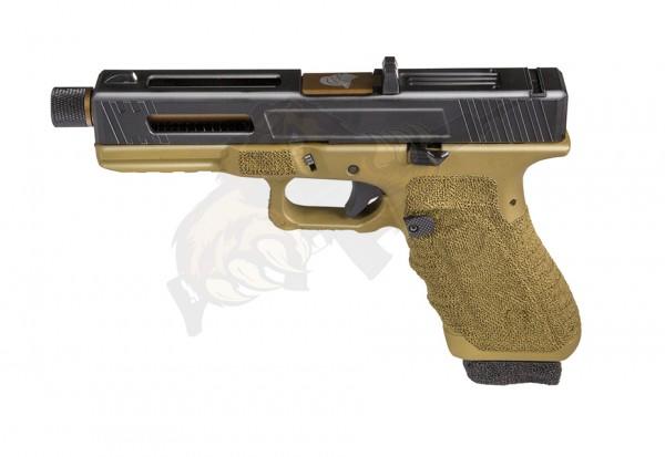 Secutor Gladius 17 Custom Pistol Bronze Co2 -F-