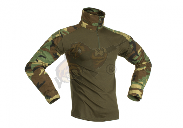 Combat Shirt Woodland - Invader Gear