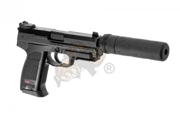 USP Tactical Metal Version AEP Schwarz - Airsoft Pistole - max. 0,5 Joule