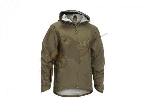 Melierax Hardshell Jacket in RAL7013 - Claw Gear