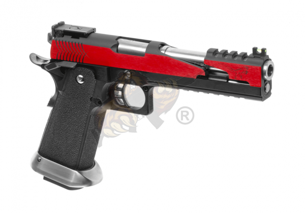 WE Hi-Capa 6 T-Rex Customs Full Metal GBB Red -F-