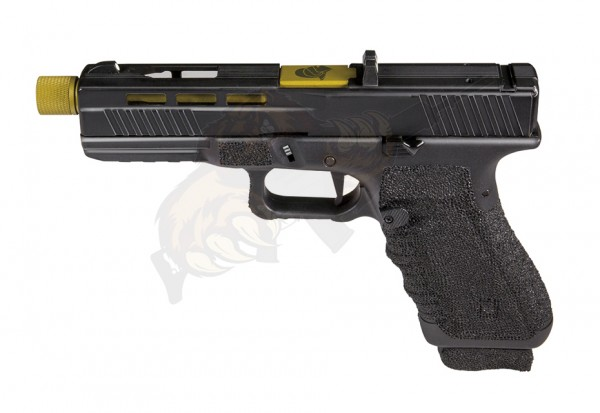 Secutor Gladius 17 Custom Pistol Golden Co2 -F-