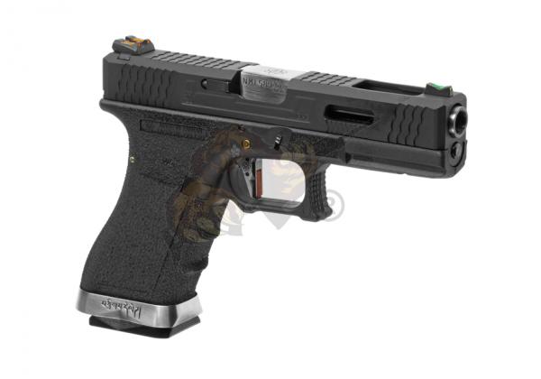 WE Custom 17 Metall Version Schwarz GBB -F-